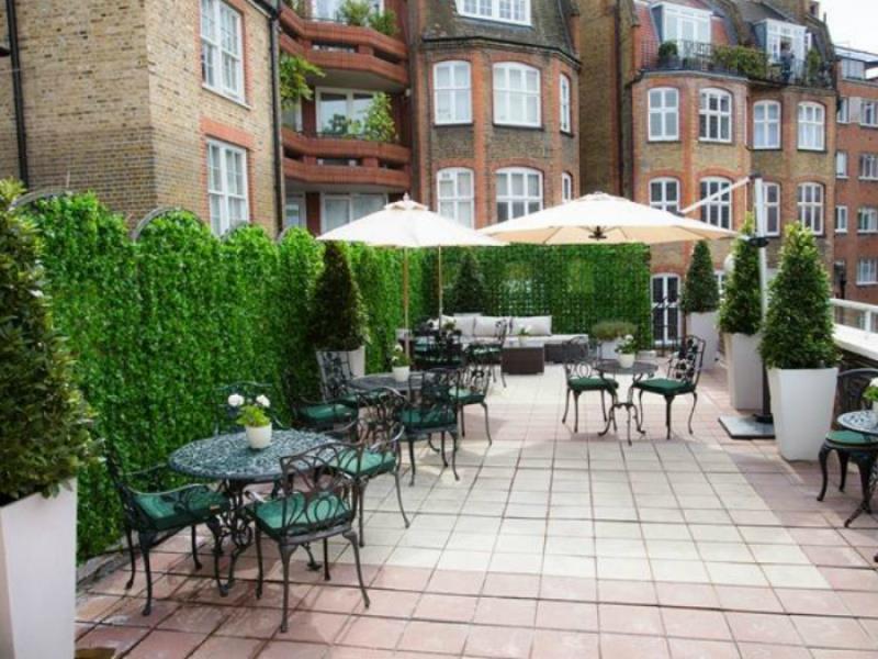 Roof Garden Rooms