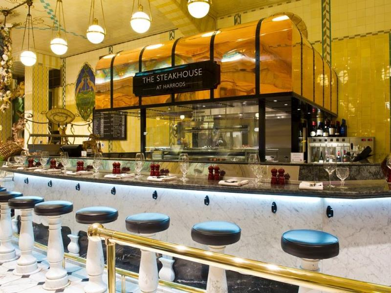 The Steakhouse at Harrods