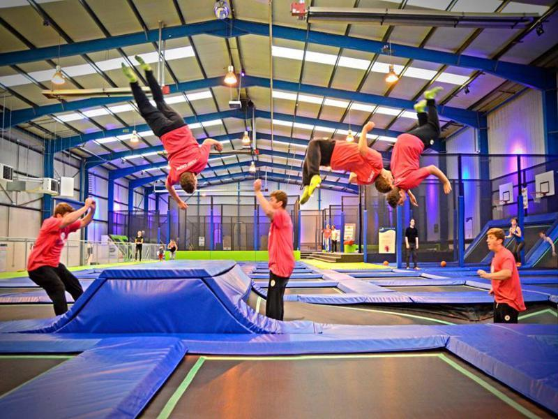 Trampolining Experience