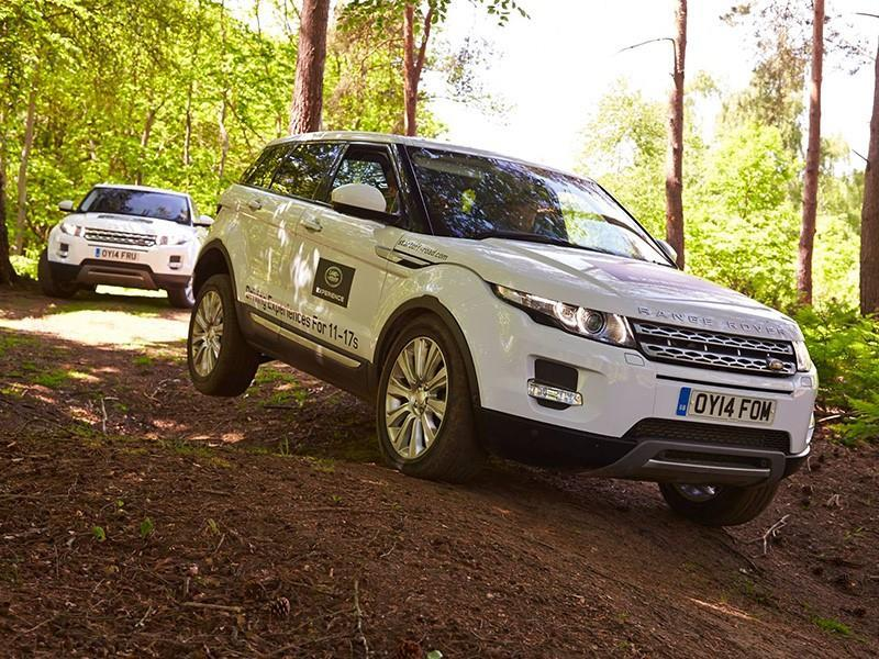 Junior Off-Road Range Rover Driving Experience