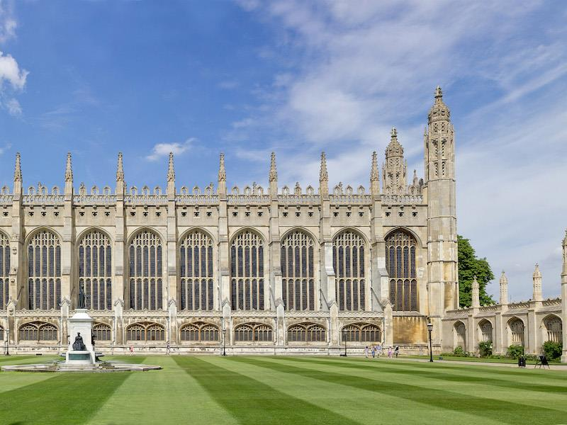 King's College, Cambridge Chapel and Grounds