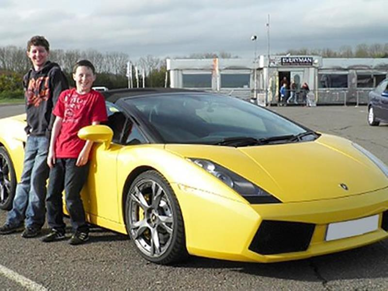 Junior Supercar Driving