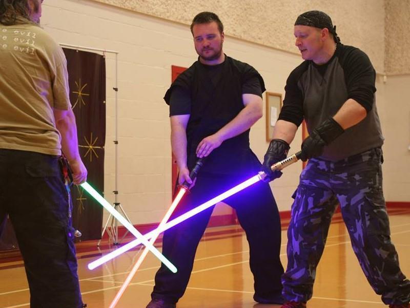 LED Sabre Combat
