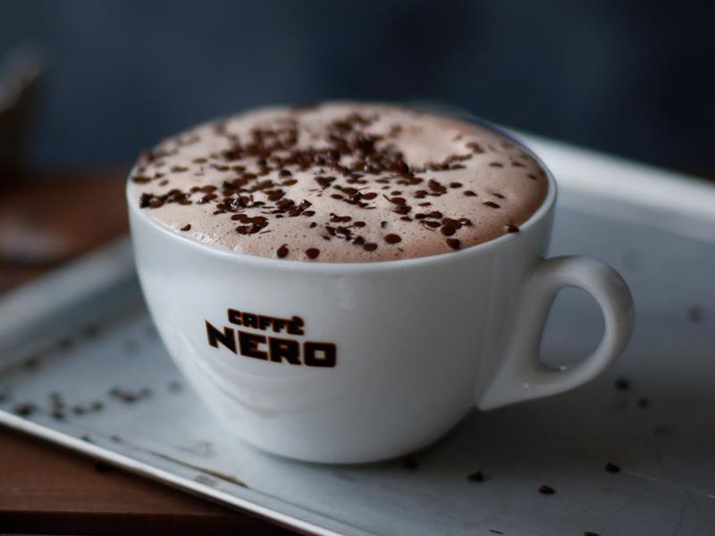 Caffè Nero (before security)
