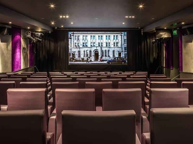 Cosy Cinema Evening for Two at a 5 Star Luxury Hotel