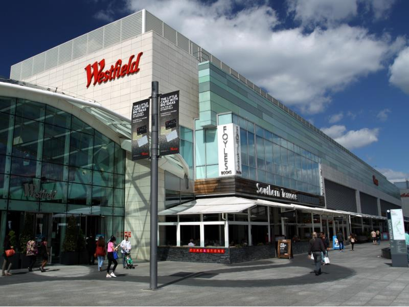 Westfield Shepherd's Bush or Stratford