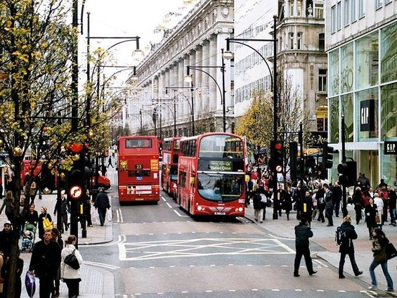 Oxford Street (Marble Arch to Bond Street)