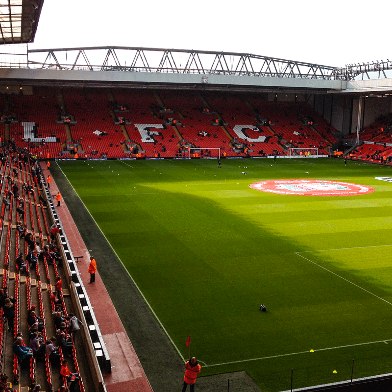 Liverpool FC Stadium Tour for One Adult + One Child