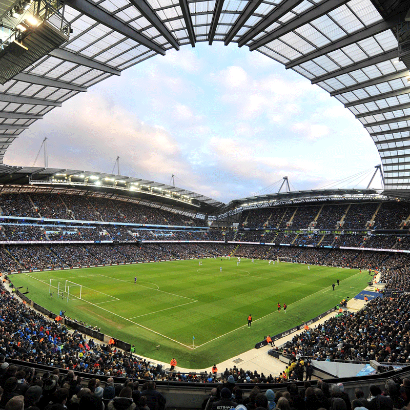 Manchester City Stadium Football Academy Tour for Two Adults