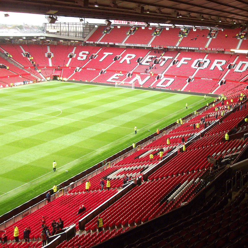 Manchester United Football Club Stadium Tour with Meal in the Red Café for Two People